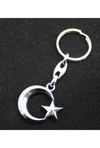 Modacar Metal Ayyıldız Anahtarlık 422137