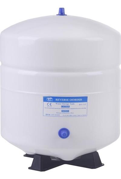 Spring Water 3.2 Galon Metal Basınç Denge Tankı 12 Litre