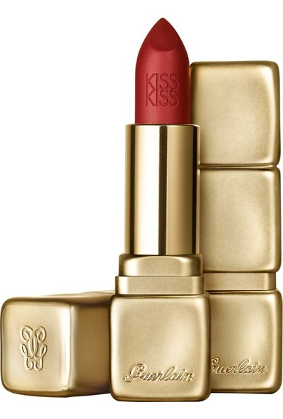 Guerlain Kiss Kiss Matte Ruj - M331 Chilli Red