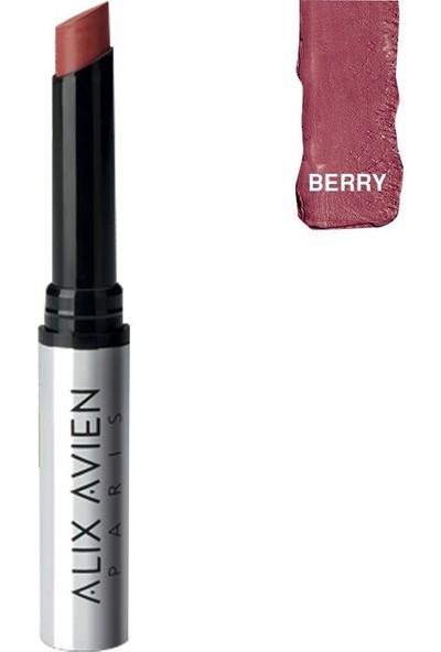 Alix Avien Matte Slim Lipstick Berry 2