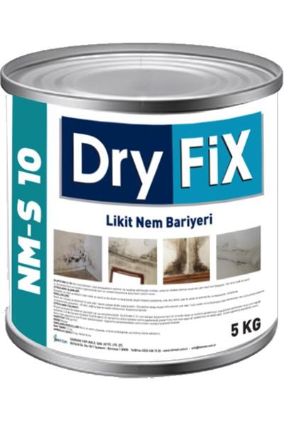 Dryfix NM-S 10 (Nemeson) Nem ve Rutubet Boyası 5 Kg