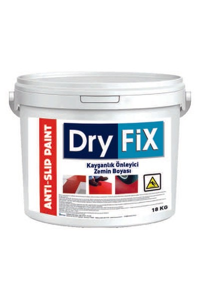 Dryfix Anti-Slip Paint Kaydırmaz Zemin Boyası 18 Kg Beyaz