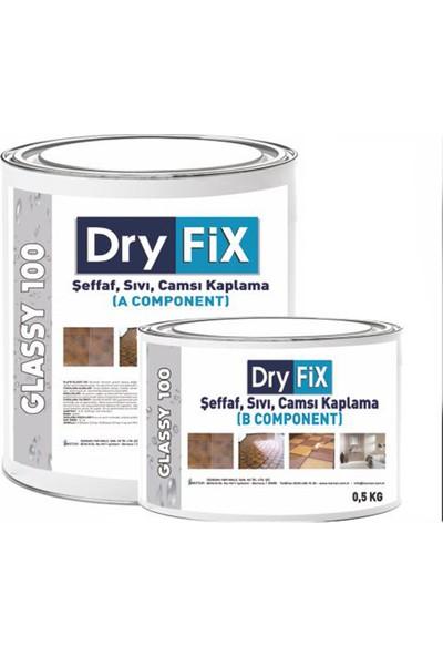Dryfix Glassy 100 ( Liquid Glass) Sıvı Cam Kaplama 4 Kg