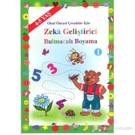 Zeka Gelistirici Bulmacali Boyama 4 5 Yas Asim Uysal Fiyati