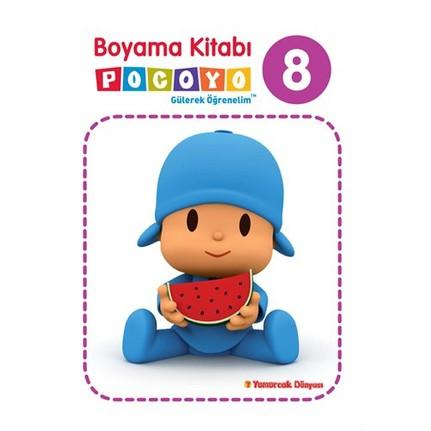 Pocoyo Boyama Kitabı 8 Fiyatı Taksit Seçenekleri Ile Satın Al