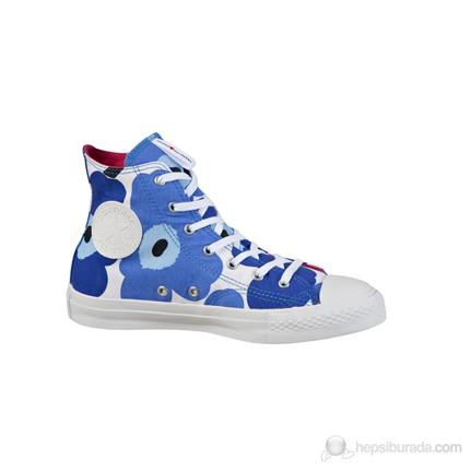 Converse 529652C Ct Chuck Taylor All Star Premium HI Blue-White HI Kadın Spor Ayakkabı