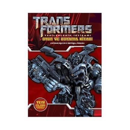 Transformers Oyun Ve Boyama Kitabı Fiyatı Taksit Seçenekleri