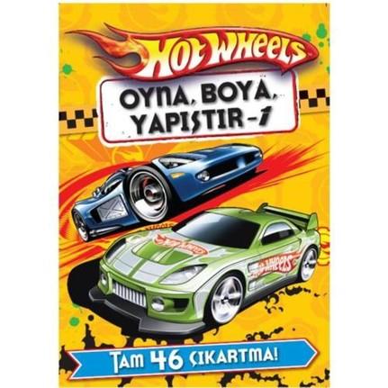 Hot Wheels Oyna Boya Yapistir 1 Kolektif Fiyati