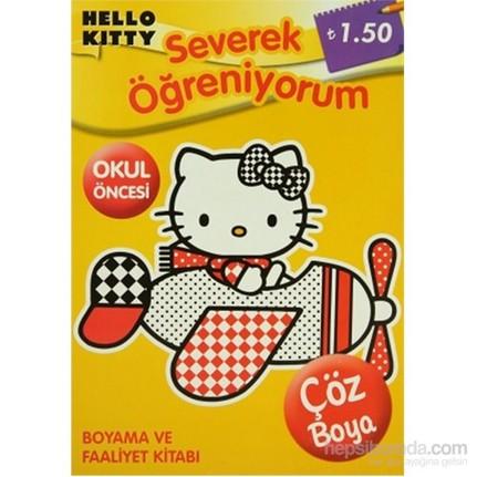 Hello Kitty Severek Ogreniyorum Okul Oncesi Boyama Ve Fiyati