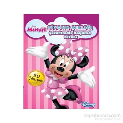 Disney Minnie Fiyonk şıklığı çıkartmalı Boyama Fiyatı