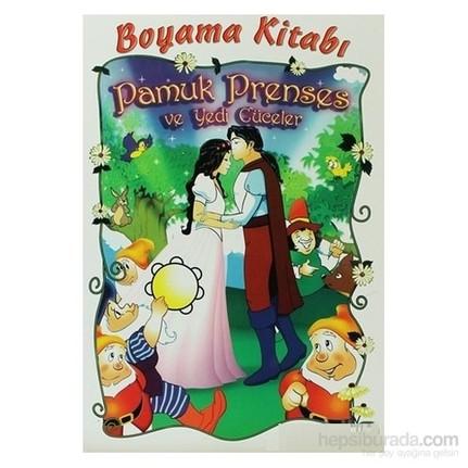 Pamuk Prenses Ve Yedi Cüceler Boyama Kitabı Kolektif Fiyatı