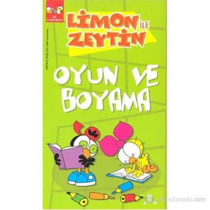 Limon Ve Zeytin Oyun Ve Boyama Ilk Kitaplarim Salih Fiyati