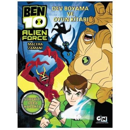 Ben 10 Alien Force Dev Boyama Ve Oyun Kitabı Kolektif Fiyatı