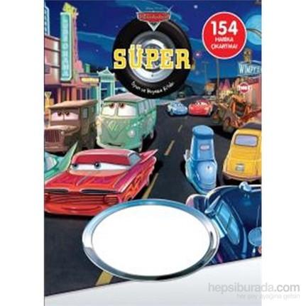Disney Arabalar Super Oyun Ve Boyama Kitabi Kolektif Fiyati