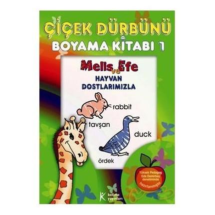 Cicek Durbunu Boyama Kitabi 1 Kolektif Fiyati