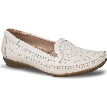 Ceyo 9921-6 Bej Kadın Ayakkabı