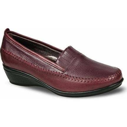 Ceyo Kadın Ayakkabı Bordo 2126