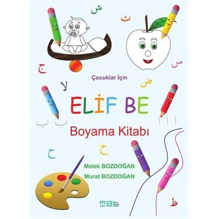 Elif Be Boyama Kitabı Melek Bozdoğan Fiyatı Taksit Seçenekleri
