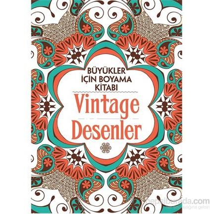 Vintage Desenler Buyukler Icin Boyama Kitabi Claire Fiyati