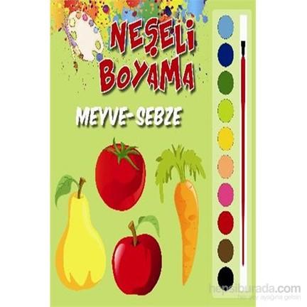 Neşeli Boyama Meyve Sebze Kolektif