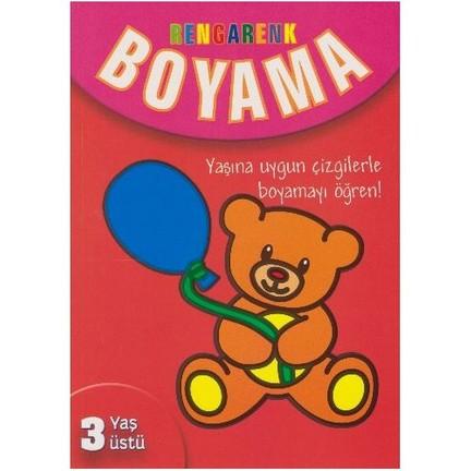 Rengarenk Boyama 3 Yas Ustu Kolektif Fiyati Taksit Secenekleri