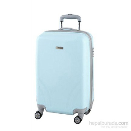 ba5c25e14af16 TUTQN Kırılmaz Plastik Bavul Kabin Boy Valiz %100 PP Turkuaz Fiyatı