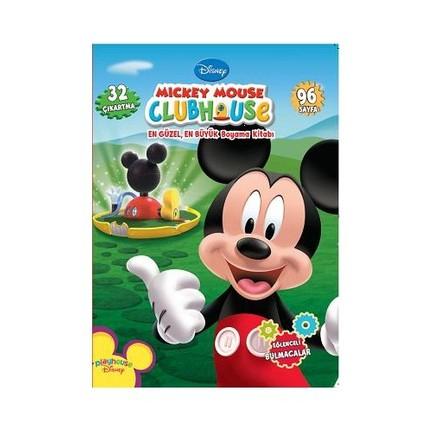 Mickey Mouse Clubhouse En Güzel En Büyük Boyama Kitabı Fiyatı