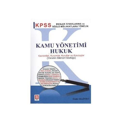 Ekin KPSS Kamu Yönetimi-Hukuk