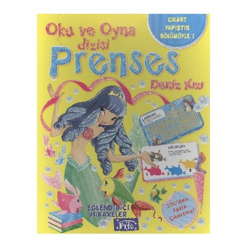 Oku ve Oyna Dizisi Prenses Deniz Kızı
