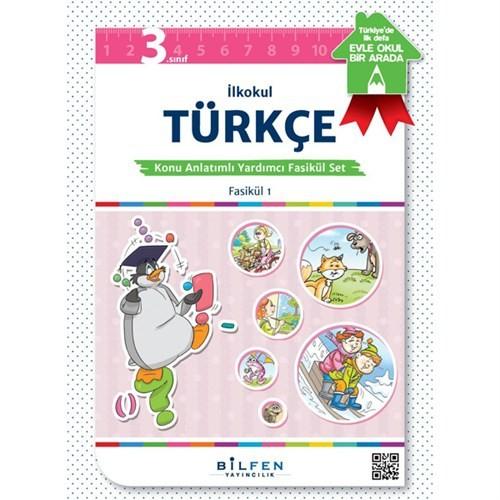 3 Sınıf Türkçe Konu Anlatımlı Yardımcı Fasikul Bilfen Yayınları