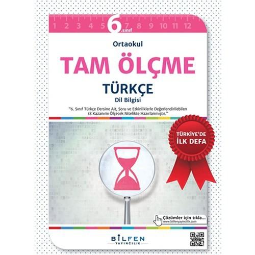 6 Sınıf Tam Ölçme Türkçe Soru Bankası Bilfen Yayınları