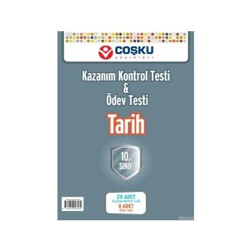 Coşku Yayınları 10.Sınıf Tarih Yaprak Testleri