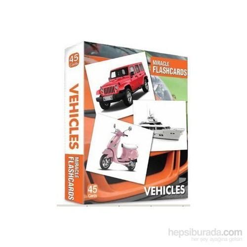 Miracle Flashcards Vehicles - 45 Pictures-Kolektif