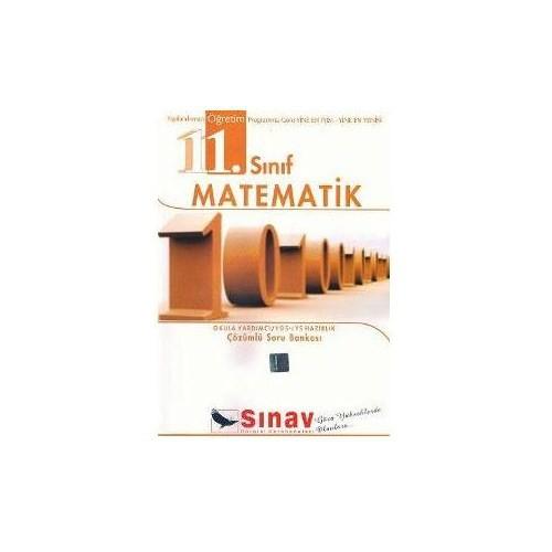Sınav 11. Sınıf Matematik Çözümlü Soru Bankası