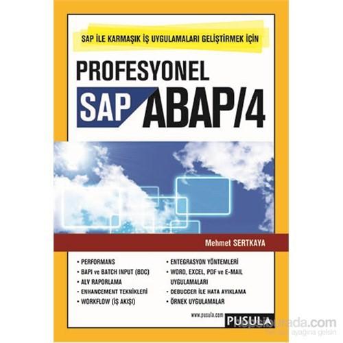 Profesyonel Sap Abap/4 - Mehmet Sertkaya