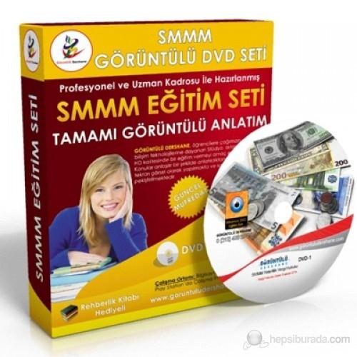 SMMM Yeterlilik Muhasebe Denetimi Görüntülü Eğitim Seti 4 DVD + Rehberlik Kitabı