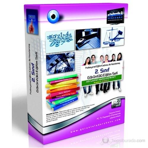 AÖF İlahiyat 2. Sınıf Arapça Eğitim Seti 22 DVD