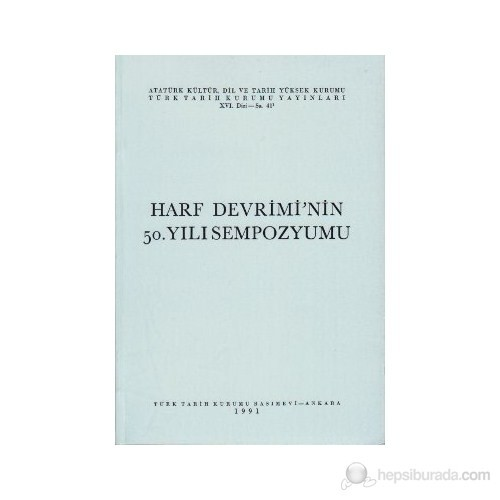 Harf Devrimi'Nin 50.Yılı Sempozyumu-Kolektif