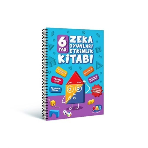 Pal 6 Yaş Zeka Oyunları Etkinlik Kitabı