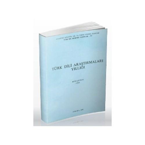 Türk Dili Araştırmaları Yıllığı - Belleten 1990-Kolektif