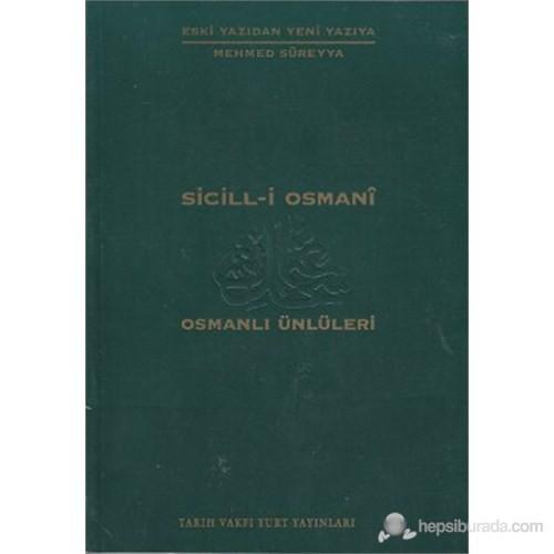 Sicill-i Osmani Osmanlı Ünlüleri 1 A-At