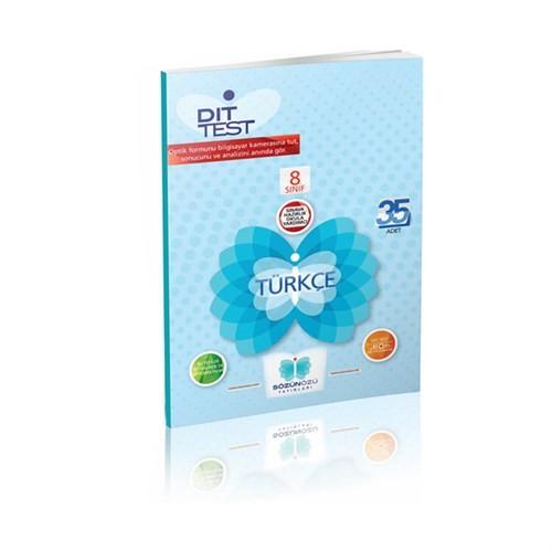 8.Sınıf Türkçe Dıt Test / Sözün Özü Yay.