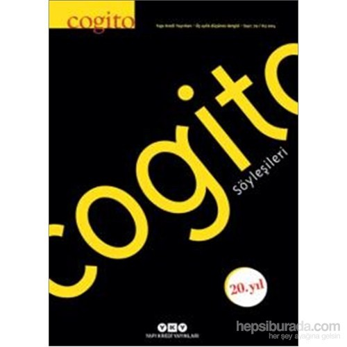 Cogito 79 – Cogito Söyleşileri-Kolektif