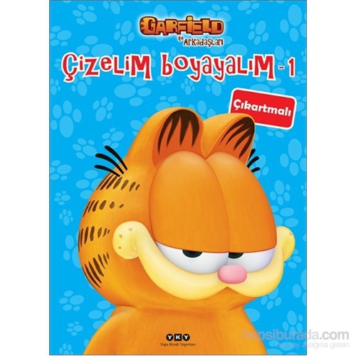Garfield İle Arkadaşları – Çizelim Boyayalım 1