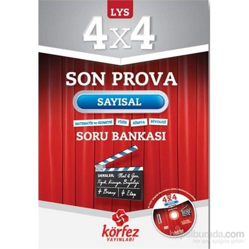 Körfez LYS 4x4 Sayısal Son Prova Soru Bankası Çözüm DVD'li