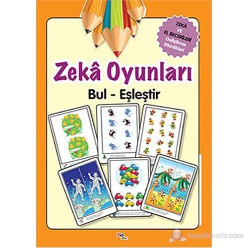 Zeka Oyunları Bul-Eşleştir - Zeka ve El Becerileri Geliştirme Etkinlikleri