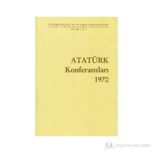 Atatürk Konferansları 1970 Cilt: 4