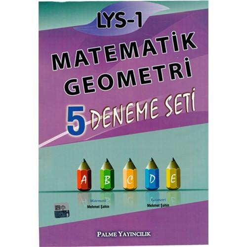 Palme Yayınları Lys 1 Matematik Geometri 5 Deneme Seti