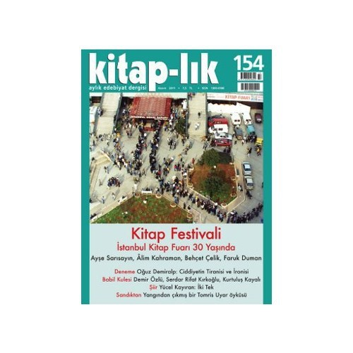 Kitap-Lık Sayı: 154 Aylık Edebiyat Dergisi