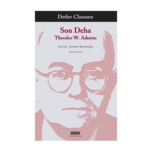 Son Deha Theodor W. Adorno